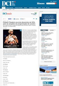 Espaço Pikadero anuncia descontos de 50% para as atrações da programação de outubro