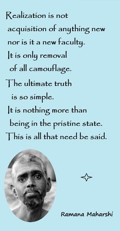 Ramana Maharshi quotes - Spiritual awakening pointers - about consciousness and enlightenment Kahlil Gibran, Meditation For Beginners, Meditation Techniques, Awakening Quotes, Spiritual Awakening, Wisdom Quotes, Life Quotes, Quotes Quotes, Hindu Quotes