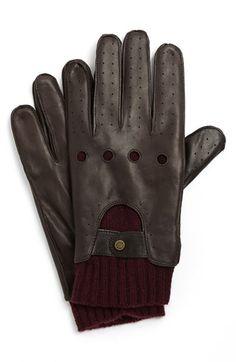"""""""Skyfall"""" driving gloves."""