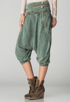 Angels Never Die  Olina harem green pants