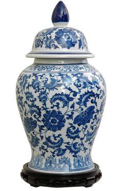 Temple Ginger Jar