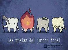 Las muelas del juicio final #OdontólogosCol #Odontólogos #Humor