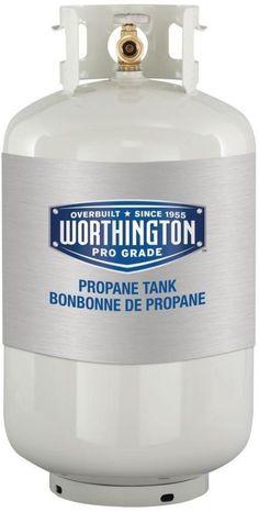 30 Lb. Empty LP Liquid Propane BBQ Grill Heater Storage Replacement Tank #WorthingtonCylinders
