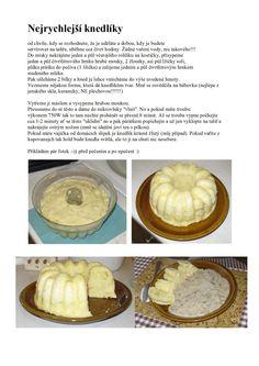 Nejrychlejsi_knedliky.doc Cantaloupe, Food And Drink, Fruit, Breakfast, Morning Coffee