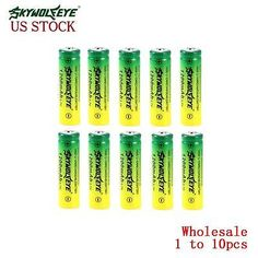 Wholesale 14500 Li-ion Rechargeable Battery For Flashlight Torch Headlamp LP