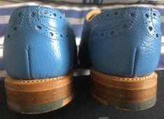 Blue Brogues, Crocs, Sandals, Fashion, Moda, Shoes Sandals, Fashion Styles, Fashion Illustrations, Sandal