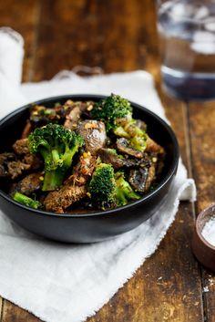Beef & Broccoli stir-fry #recipe #lowcarb #dinner