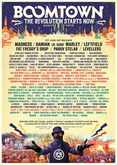 BoomTown Fair poster