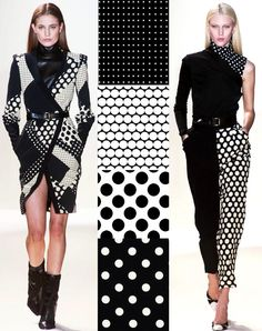 Trend Council Fall-Winter 2014/2015 Black & White Print Direction