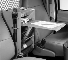 We have a complete selection of van and pickup truck equipment. Get your work truck accessories like van shelving or ladder racks today. Van Storage, Truck Storage, Van Organization, Van Shelving, Volkswagen Routan, Van Racking, Mobile Workshop, Vw Lt, Kombi Home