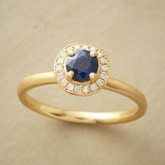 SAPPHIRE AURA RING 2400 cad made in canada