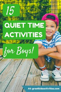 15 Quiet Time Activities for Boys