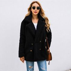 Teddy Bear Vintage Jacket Coat 59.99 CAD Plus Size Cardigans, Military Style Jackets, Skirt Leggings, Jackets For Women, Clothes For Women, Hoodie Dress, Cotton Jacket, Vintage Jacket, Maternity Tops