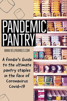 A foodie's guide to organizing the ultimate pantry with what you need for 2 weeks' isolation or self-quarantine and stay sane! Survival Food List, Emergency Preparedness Food, Survival Life Hacks, Emergency Food Storage, Emergency Food Supply, Emergency Preparation, Emergency Supplies, Survival Prepping, Survival Skills