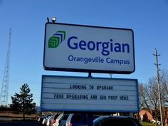 Wayne visited Orangeville& Georgian College Campus and was impressed with the size, environment and the variety of courses available. Georgian College, Wayne White, College Campus, Environment