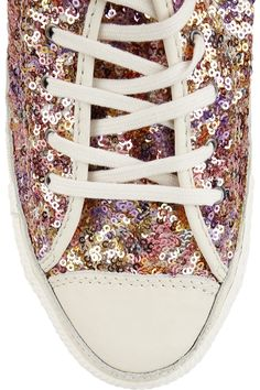 sequin chuck taylor sneakers. a.k.a. glamour chucks