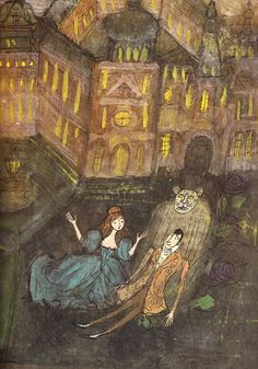 Alice and Martin Provensen's Stunning Vintage Illustrations for Twelve Classic Fairy Tales – Brain Pickings
