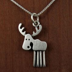 Moose necklace - I love this!!