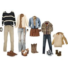 what to wear fall family session