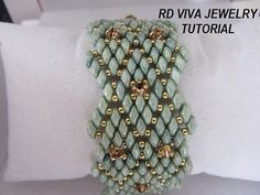 Tutorial San Francisco Bracelet by RDVIVAJEWELRY on Etsy