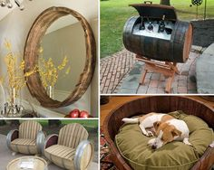 25 Brilliant DIY Projects Reusing Old Wine Barrels | Upcycling Ideas and Upcycling Projects