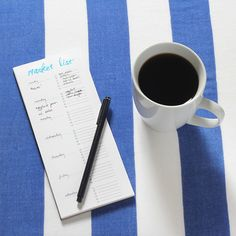 We Can Make Anything: market shopping list (+ free printable!)