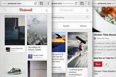 A more mobile Pinterest