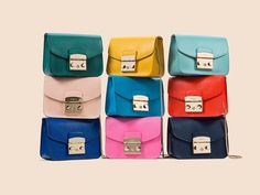 Furla bags. The company was established in 1927 by Aldo and Margherita Furlanetto in Bologna