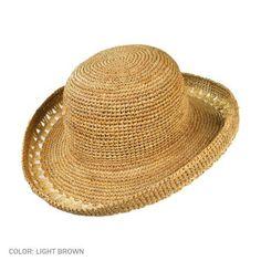 Crochet Raffia Hat pattern
