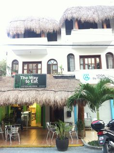 """The """"By the Way"""" building in Playa del Carmen."""