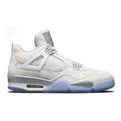 best sneakers c9a1d a4018 Buy Authentic Air Jordan 4 Retro Laser White Chrome-Metallic Silver Lastest  from Reliable Authentic Air Jordan 4 Retro Laser White Chrome-Metallic  Silver ...