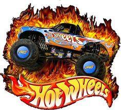 - Oh My Fiesta! in english Monster Jam, Monster Trucks, Festa Monster Truck, Hot Wheels Party, Hot Wheels Cake, Hot Wheels Birthday, Imprimibles Hot Wheels, Hot Wheels Kuchen, Autos Hot Wheels