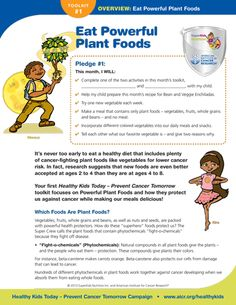 American Institute for Cancer Research (AICR): Eat Powerful Plant Foods