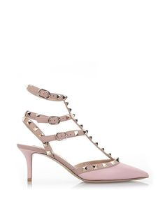 a164a60b1c45 Shop Women s Valentino Low and mid heels on Lyst.
