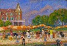 William Glackens ~ Ashcan School painter ~ (1870-1938)