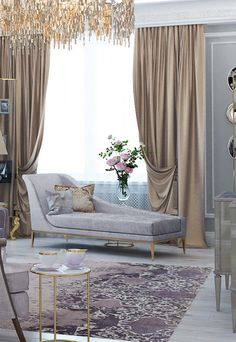 Architectural Digest Features A Fabulous New Orleans Home Alluring Luxury Curtains For Living Room Review