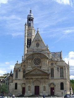 Saint-Étienne-du-Mont, Paris - France