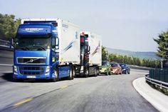Self-Driving lorry convoys to hit UK roads by 2015. Infrared cameras and laser sensors will be used to monitor vehicle movements and the lorries will be able to communicate with each other through Wi-Fi.
