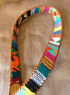 handmade belt in Guatemala