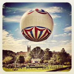A Balloon in Bournemouth.