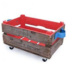 Opbergbox anemoon rood: handig voor al het rondslingerend spul. #leenbakker