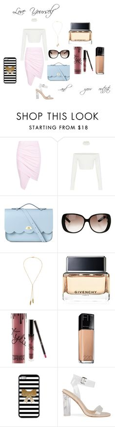 """Gonna Love Myself"" by a-state-of-ruin ❤ liked on Polyvore featuring beauty, Boohoo, The Cambridge Satchel Company, Gucci, Bølo, Givenchy, Kylie Cosmetics and Maybelline"