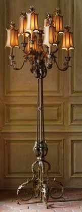 John Richard A Must Have For The Sitting Room Chandelier Floor Lamp