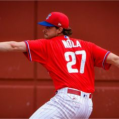 Pitchers and catchers have officially reported to Phillies Spring Training. We are just over a week from the Phillies first Spring Training game against an MLB team February against the Blue Jays. Aaron Nola, Running The Gauntlet, Phillies Baseball, Philadelphia Sports, Mlb Teams, Spring Training, Nhl, Philly Pa, Boxing