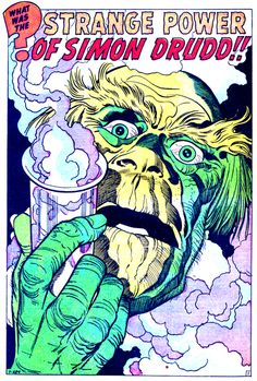 By Jack Kirby.  Don't know anything about this story, but I'm not incredibly curious about Simon Drudd!