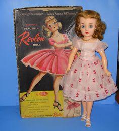 Ideal Miss Revlon Doll In Original Box - All Original