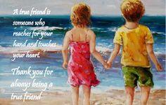 Beautiful friendship story