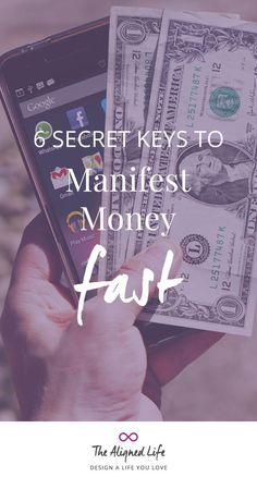6 Secret Keys To Manifest Money Fast - Want to manifest money fast? It's all a matter of mindset. Learn 6 secret keys to manifest money quickly here Robert Kiyosaki, Law Of Attraction Love, Manifestation Law Of Attraction, Manifesting Money, Money Affirmations, Positive Affirmations, Mind Tricks, Money Quotes, How To Manifest
