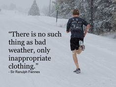 New motto. Get out and RUN. Lol needed this bc I've been thinking of every excuse NOT to go when it's cold...