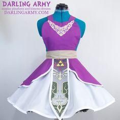 Legend of Zelda Twilight Princess Cosplay Pinafore by DarlingArmy.deviantart.com on @DeviantArt